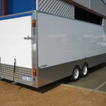Custom Enclosed Car Trailer(1)