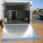 Custom Enclosed Car Trailer(2)
