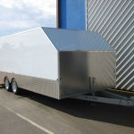 Custom Enclosed Car Trailer(3)