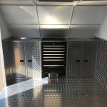 Custom Enclosed Car Trailer(4)
