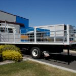 Isuzu FRR 525 Flat Bed with Hinged Freight GatesGates