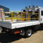Isuzu NPS 300 Dual Cab Mining Supply Truck