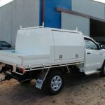 Hilux Alloy Tray and Toolbox