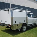 BT50 Canopy body with rack and step 2