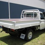 Steel Tray with 76mm Cab Guard