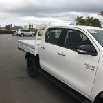 DC Hilux Over Centre Latch Painted