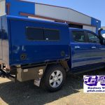 Dual Cab Ranger Solid Canopy Blue 2019